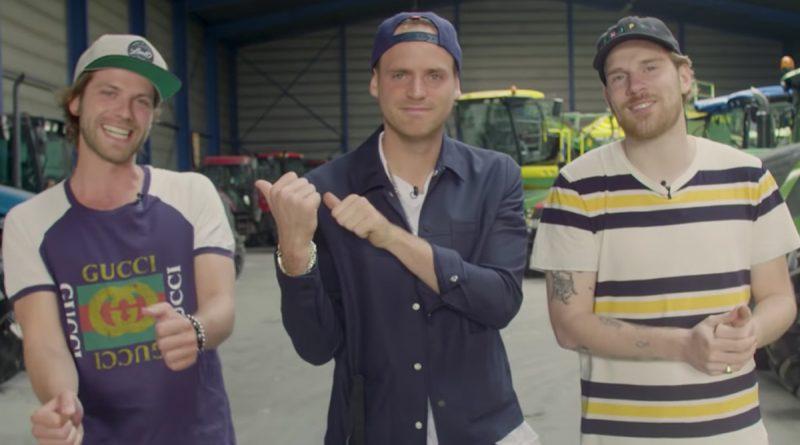 Giel de Winter, Thomas van der Vlugt, Stefan Jurriens