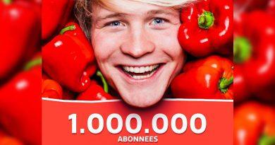Kalvijn Kelvin Boerma 1 miljoen abonnees