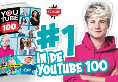 YouTube100 top 100 nummer 1 Kelvin Boerma Kalvijn