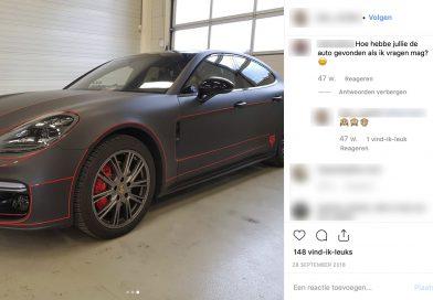 Waar is de Porsche van Enzo Knol?